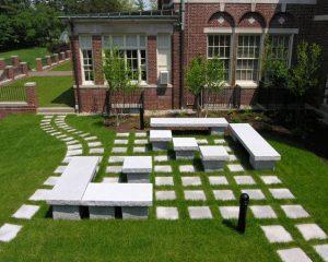 Poets Garden, Hyde School, ME